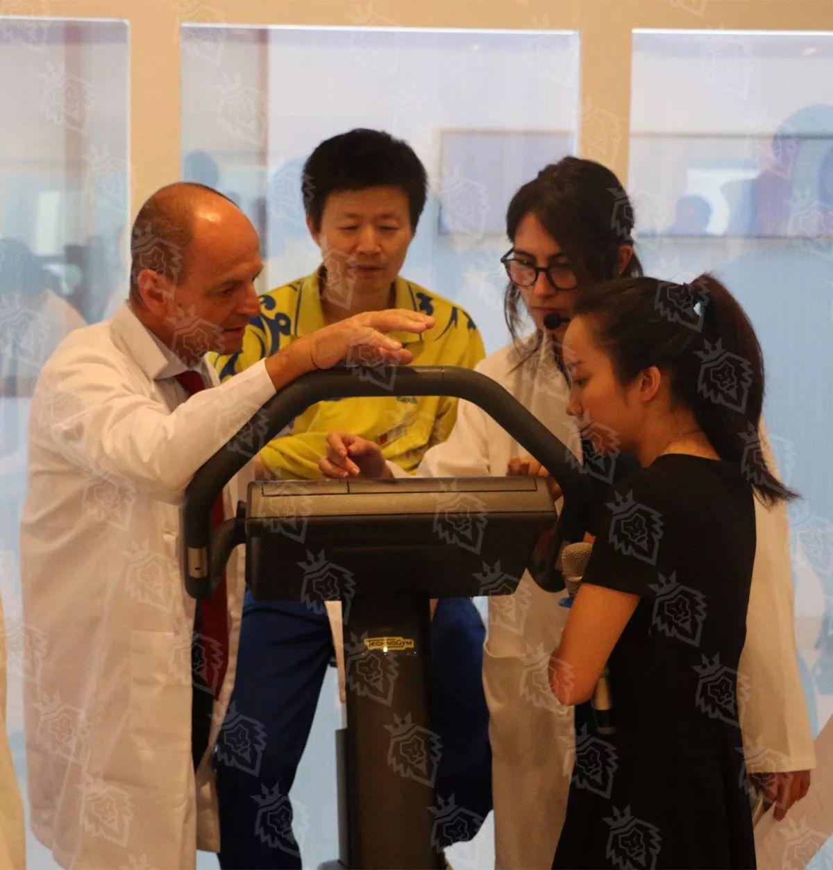 """罗马医科大学医院海泉湾中国首期""""心脏术后生命重建训练营""""机能测试"""
